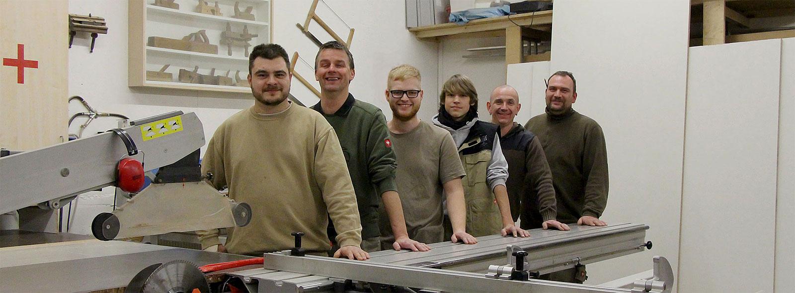 Schreiner Team Werkstatt